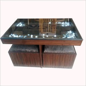 4 Seater Coffee Table With Stored