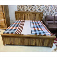 Teak Wood Bed With Storage
