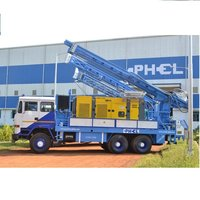 Truck (6X6) Mounted Drilling Rig PDTHR-300