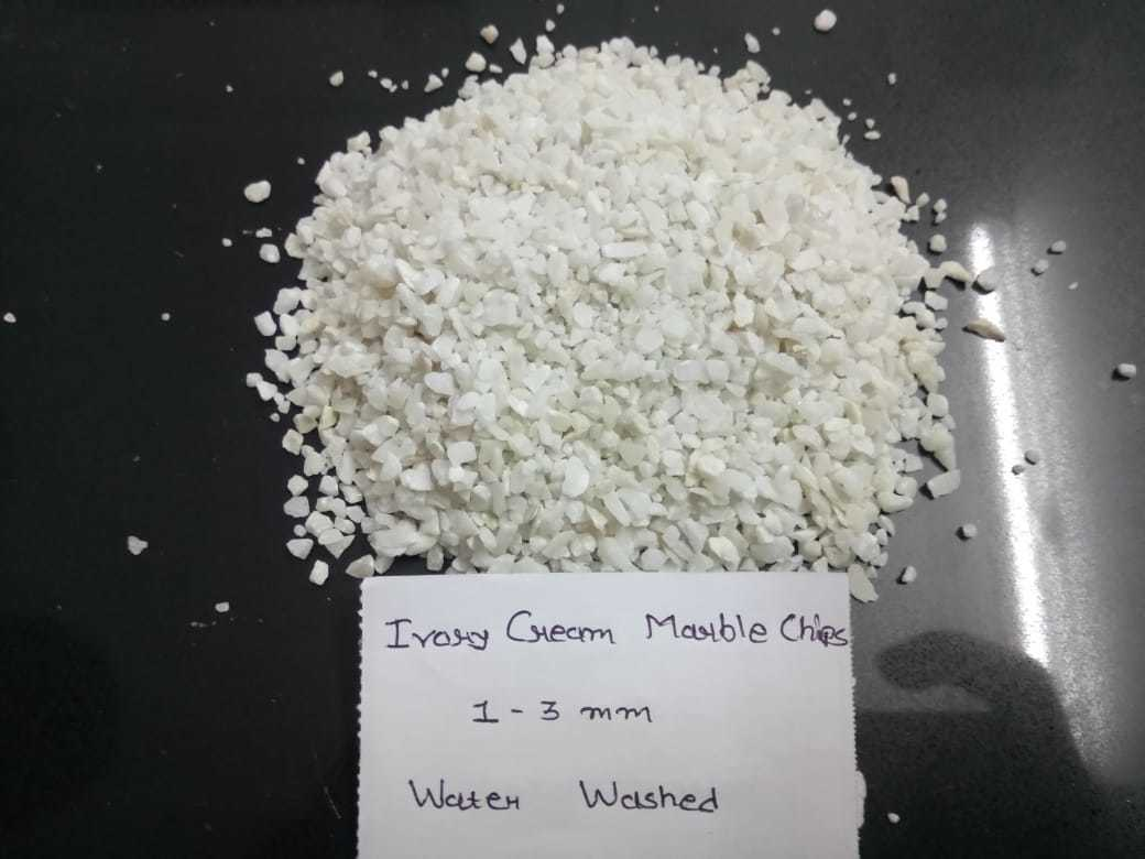 high quality water wash White Marble crushed Stone aggregate and chips