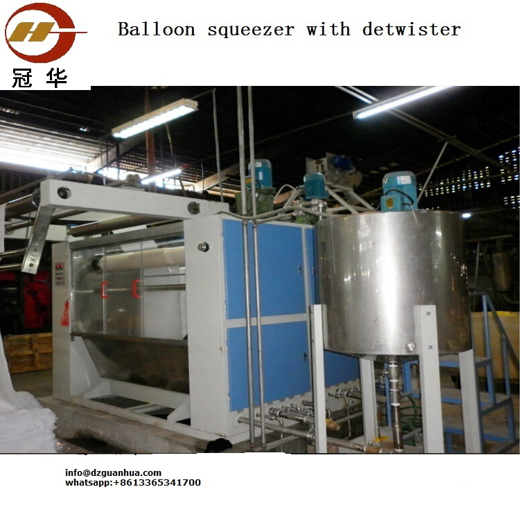 Tubular Balloon Squeezer Machine
