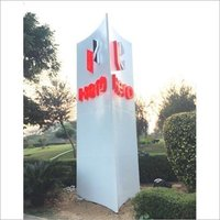 3D Letter Acrylic Signage Board
