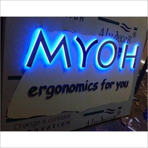 Blue Neon LED Signage