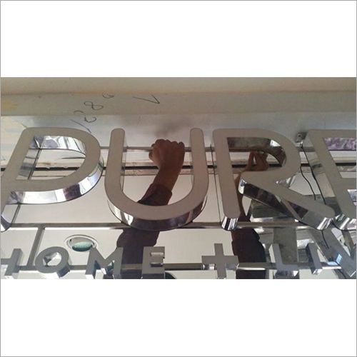 Customized SS Signage Letter Board