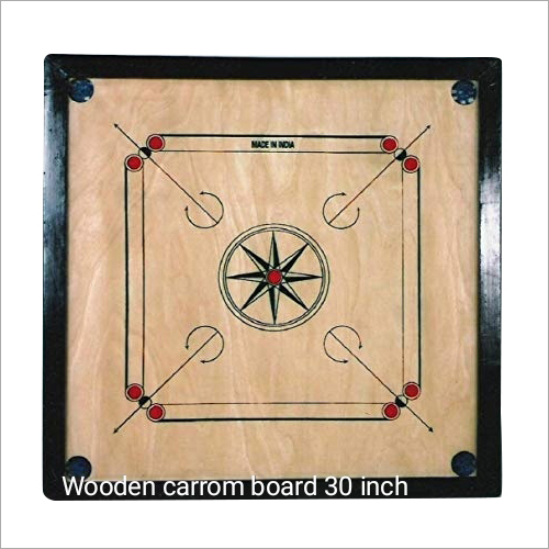 30 Inch Wooden Carrom Board