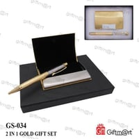 2 In 1 Gold Gift Set