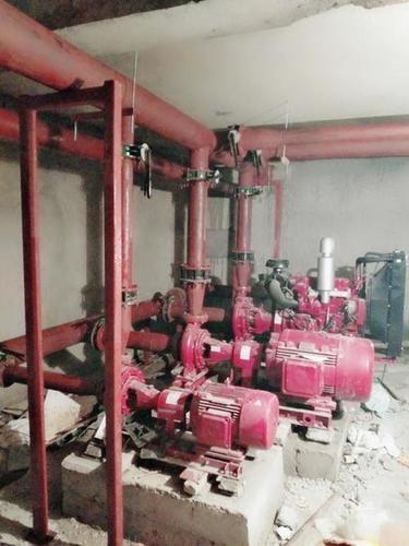 MS Pipeline Pump Room Work
