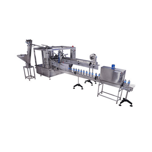 Automatic 30 BPM Bottle Filling Machine