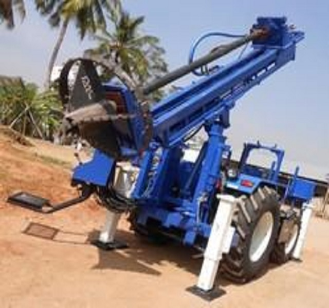 Crawler Mounted Mining Drilling Rig