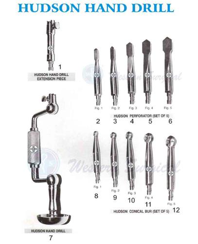 Hudson Hand Drill