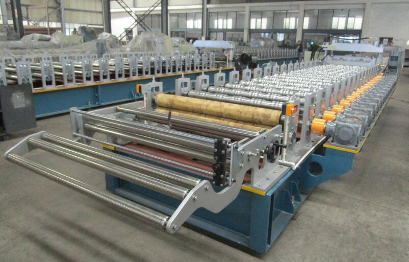 High Speed Step Tile Machine with Gear Box Transmission