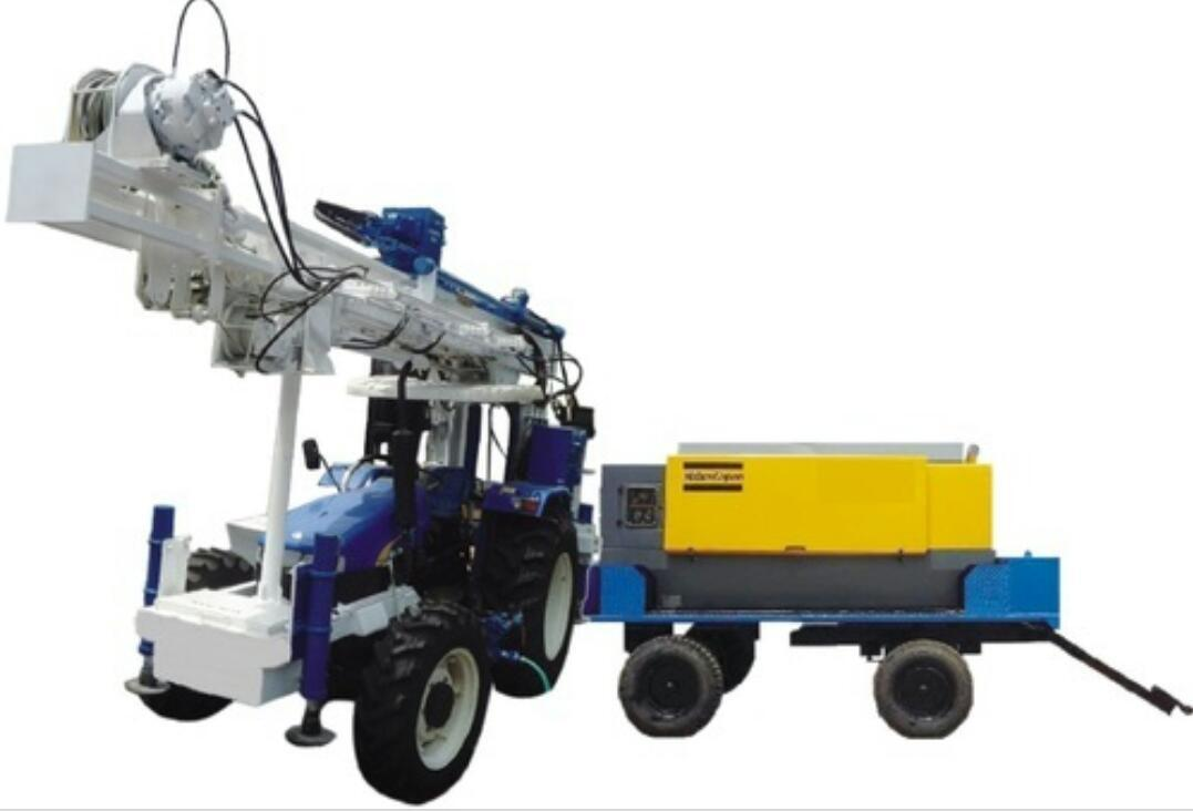 Tractor Mounted Soil Investigation Drilling Rig