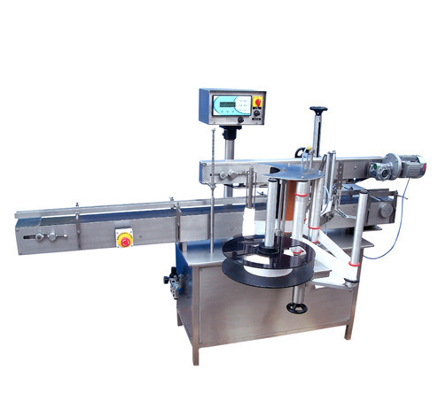 Flat Bottle Single Side Labeling Machine