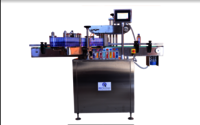 Flat Bottle Sticker Labeling Machine