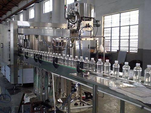 24 Bottle Per Minute Mineral Water Plant