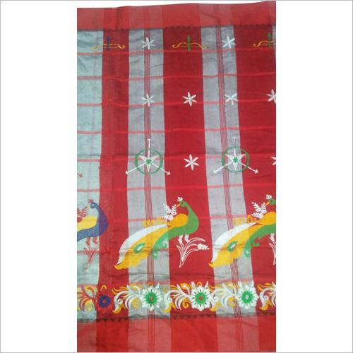 Pure Bengal Cotton Silk Saree