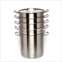 4 Tier Stainless Steel Steamer