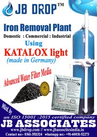 Iron Removal Plant by KATALOX