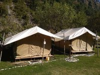 swiss cottage tents