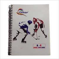 Onkar A4 Sprial Notebook