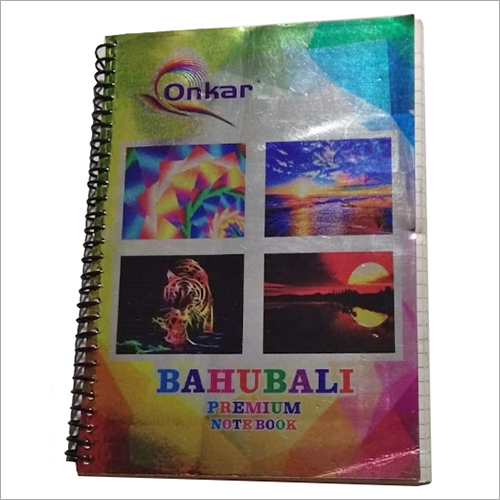 Bahubali Sprial Notebook
