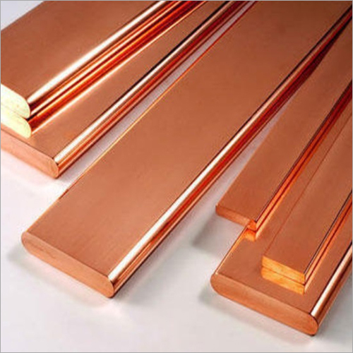 Copper Plain Flat Bar