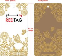 Red Paper Tag