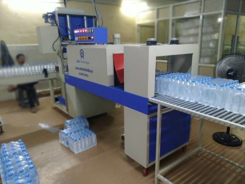 Triple Track Fully Automatic Shrink Wrapping Machine