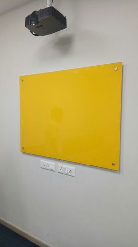 Yellow Glass Board