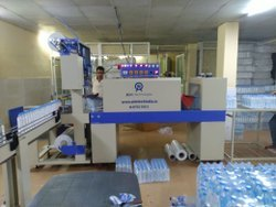 Single Track Fully Automatic Shrink Wrapping Machine