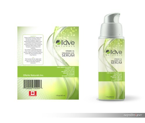 Cosmetic Product Sticker Label
