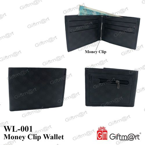 Gents Wallets With Money Clip