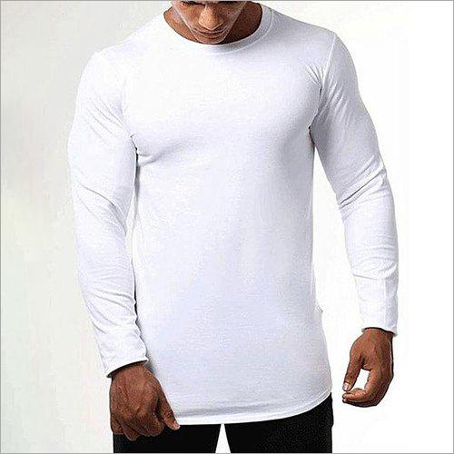 Full Sleeve Plain T-Shirt