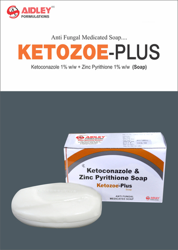 Ketoconazole 1% with ZPTO 1% Soap