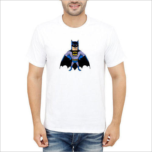 Mens Printed Cotton T-Shirt