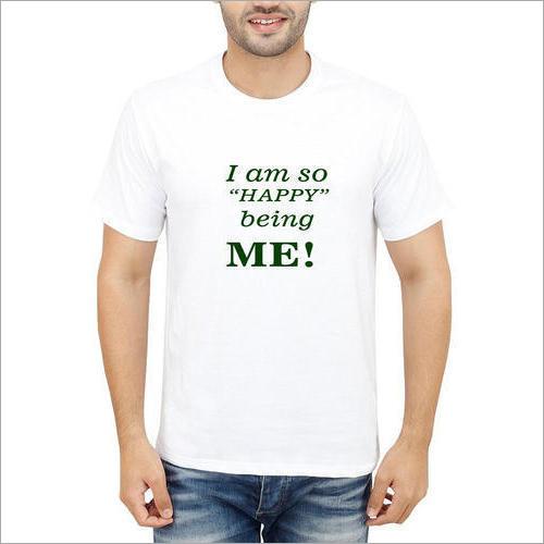 Mens Printed Fancy T-Shirt