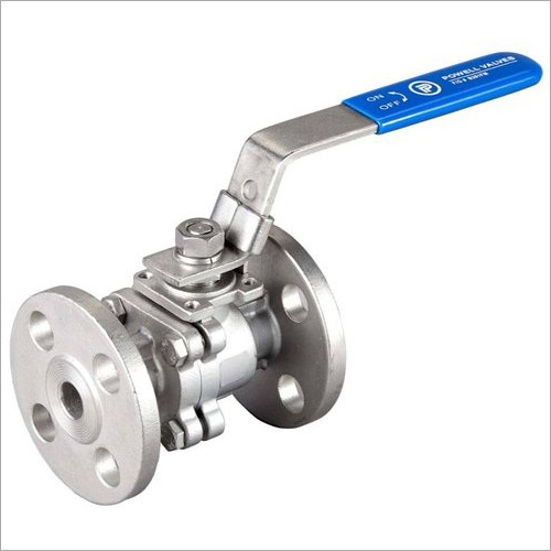 Mild Steel Two Way Ball Valve