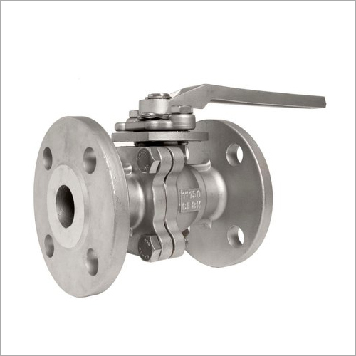 CI Flanged Ball Valve