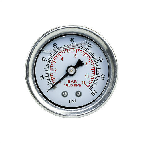 Stainless Steel Analog Pressure Gauge
