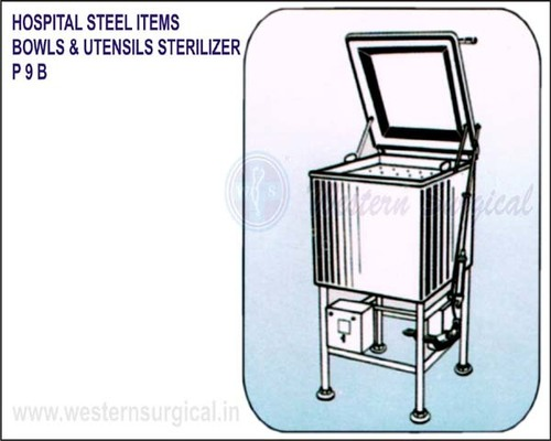 Hospital Steel Items Bowls & Utensils Sterilizer