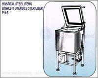 Hospital Steel Items Bowls & Utensils Sterilizer