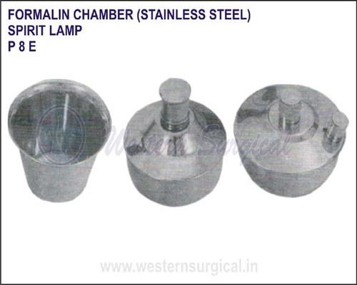 Formalin Chamber S.S. Spirit Lamp