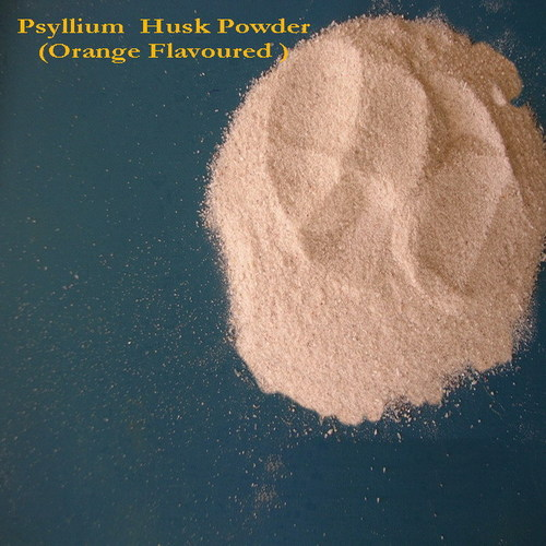 Flavoured Psyllium Powder Sugar Free Orange Flavour, With Oem And Private Labeling Gmp & Halal Certified