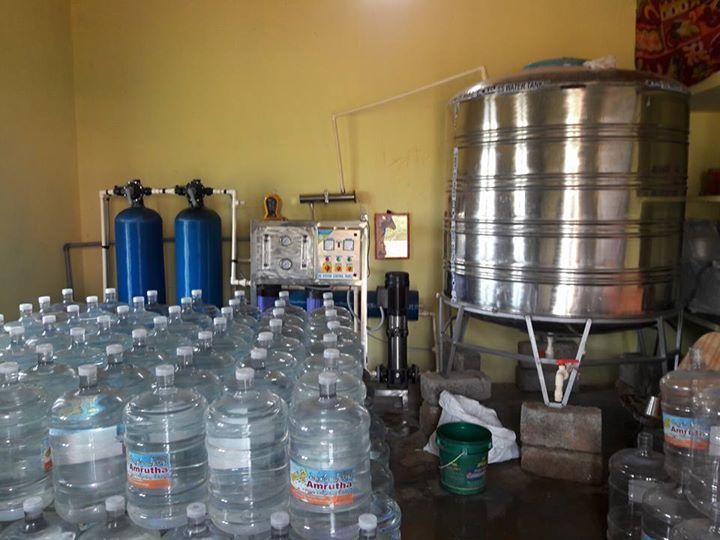 Jar Water Plant