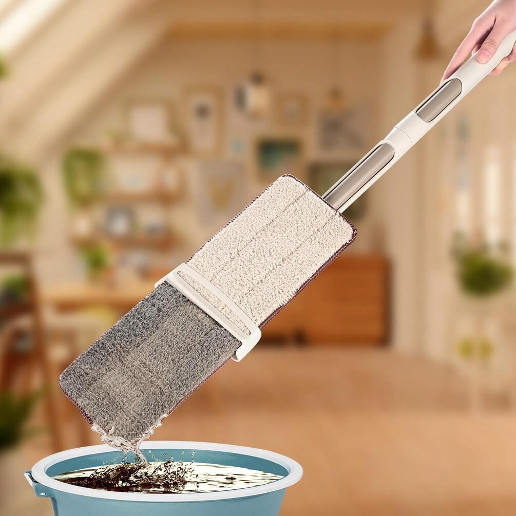 Self Wringing Microfiber Spray Mop Kit