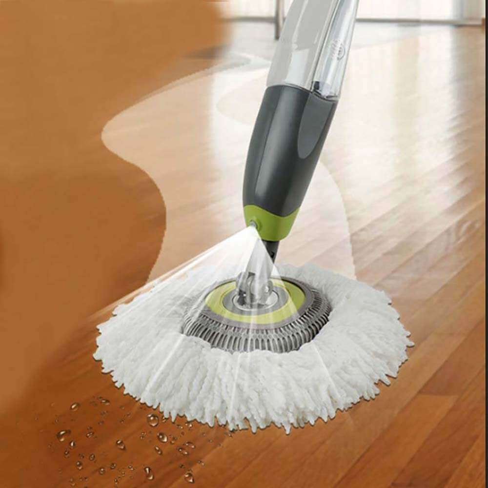 Round Swivel Spray Mop