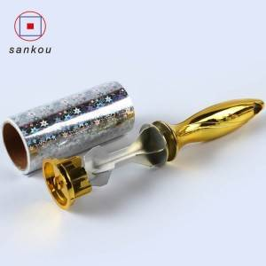 NEW DESIGN LINT ROLLER WITH ELECTROPLATING HANDLE