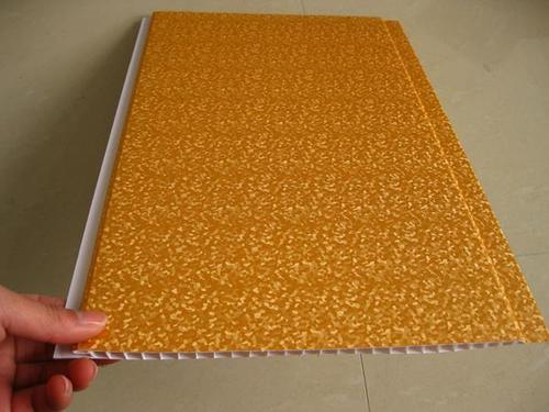 Golden Color Interior PVC Laminated Wall Panels