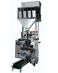Four Head Weigher Fully Pneumatic Pouch Packing Machine