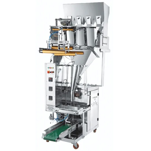 Four Head Weigher Half Pneumatic Pouch Packing Machine